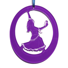 Load image into Gallery viewer, Gypsy Girl Laser-Etched Ornament