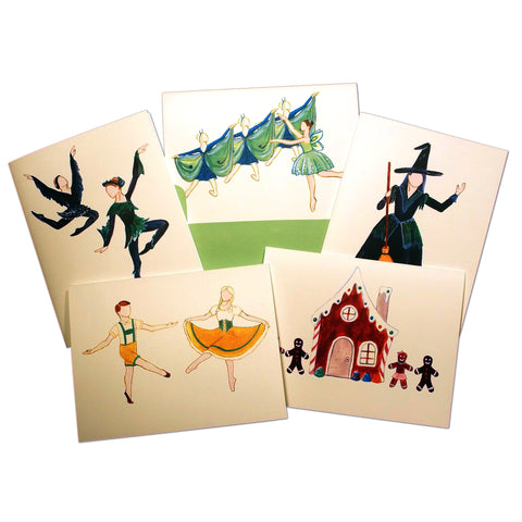 Hansel & Gretel Assorted Note Card Set - Ballet Gift Shop