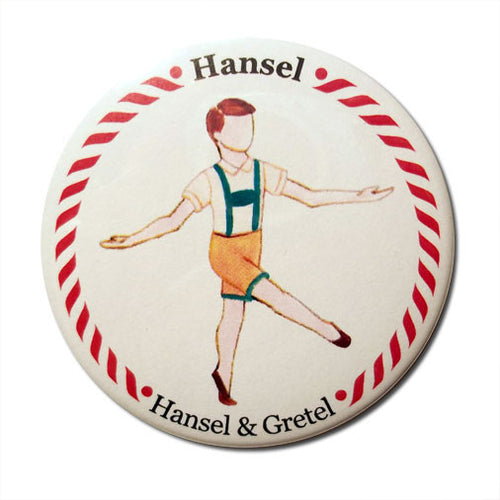 Hansel Button/Magnet/Mirror - Ballet Gift Shop