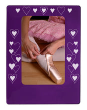 "Load image into Gallery viewer, All Hearts 4"" x 6"" Magnetic Photo Frame (Vertical/Portrait) - Ballet Gift Shop"