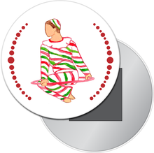 Load image into Gallery viewer, Hoop Dancer Button/Magnet/Mirror
