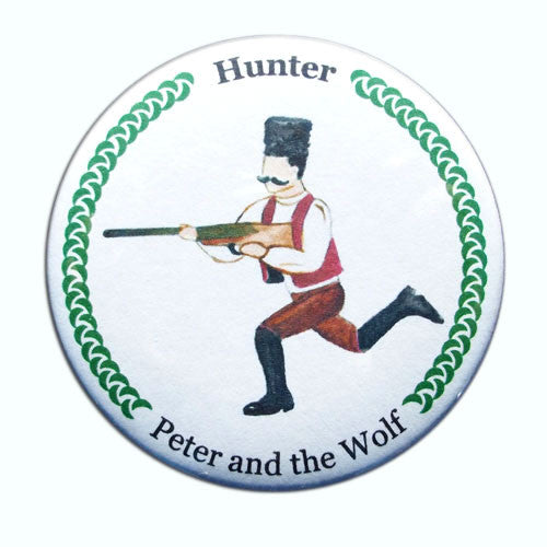 Hunter Button/Magnet/Mirror - Ballet Gift Shop