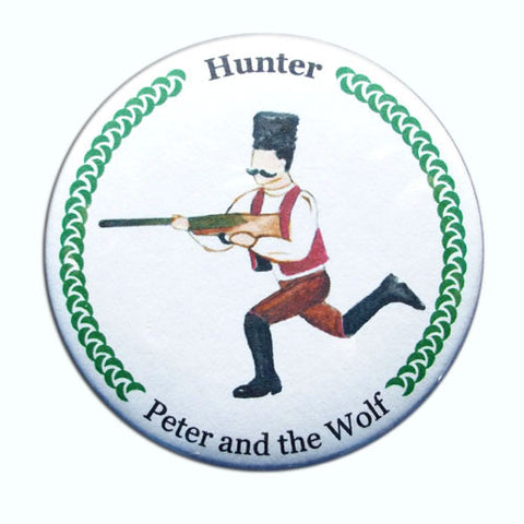 Hunter Button / Magnet
