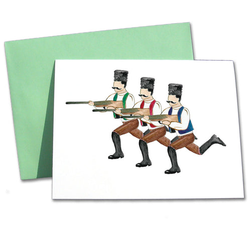 Hunters Note Cards - Ballet Gift Shop