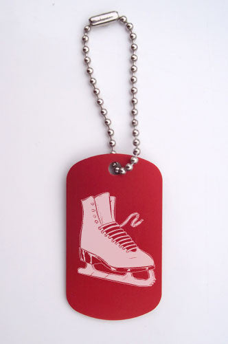 Figure Skate Bag Tag