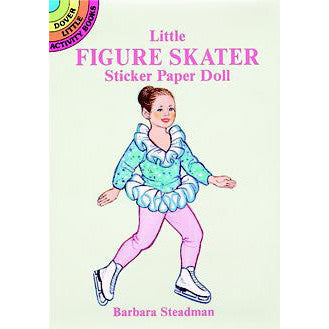 Little Figure Skater Sticker Paper Doll - Ballet Gift Shop