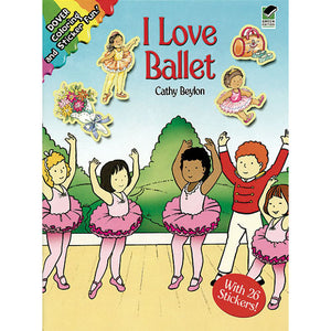 I Love Ballet - Coloring & Sticker Fun - Ballet Gift Shop