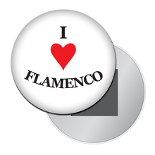 Load image into Gallery viewer, I Love Flamenco Button/Magnet/Mirror