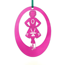 Load image into Gallery viewer, Irish Step Dancer Girl Laser-Etched Ornament - Ballet Gift Shop