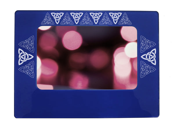 "Irish Step Dance/Celtic 4"" x 6"" Magnetic Photo Frame (Horizontal/Landscape) - Ballet Gift Shop"