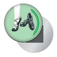 Load image into Gallery viewer, Irish Step Dance Shoes Button/Magnet/Mirror