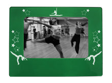 "Load image into Gallery viewer, Jazz Dancer 4"" x 6"" Magnetic Photo Frame (Horizontal/Landscape) - Ballet Gift Shop"