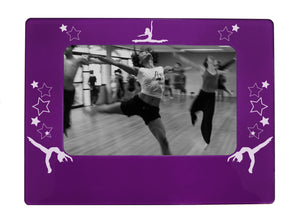 "Jazz Dancer 4"" x 6"" Magnetic Photo Frame (Horizontal/Landscape) - Ballet Gift Shop"
