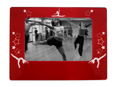 "Jazz Dancer 4"" x 6"" Magnetic Photo Frame (Horizontal/Landscape)"