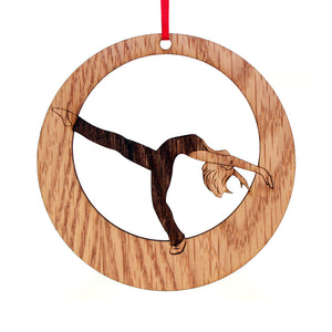 Jazz Layout Laser-Etched Ornament - Ballet Gift Shop