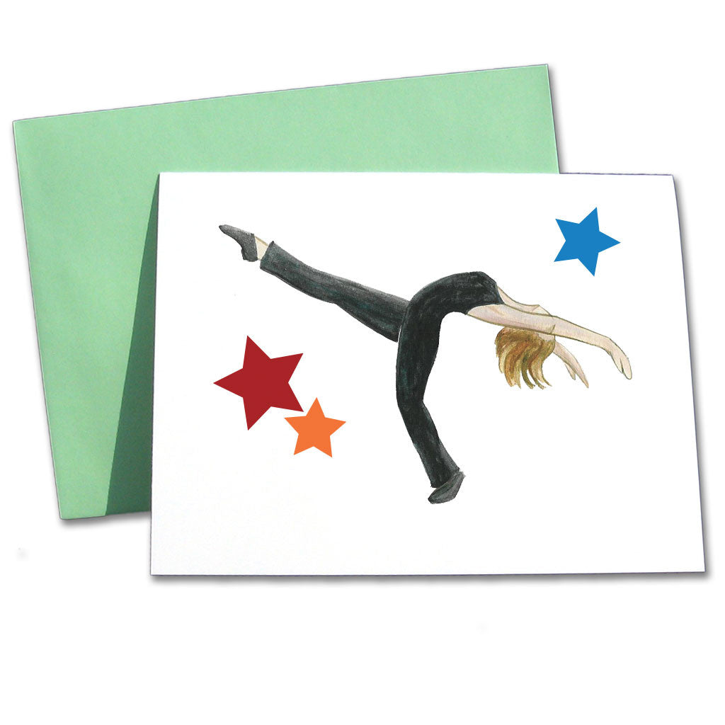 Jazz Layout Note Cards - Ballet Gift Shop