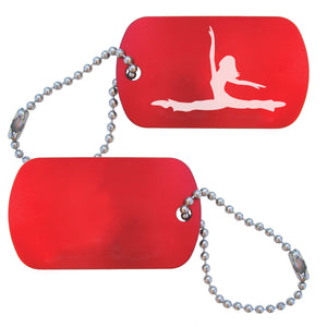Jazz Dance Bag Tag (Choose from 2 designs) - Ballet Gift Shop