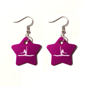 Jazz Leap Metal Earrings