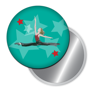 Jazz Leap Button/Magnet/Mirror