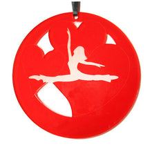 Load image into Gallery viewer, Jazz Valentine Laser-Etched Ornament - Ballet Gift Shop