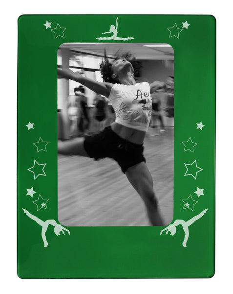 "Jazz Dancer 4"" x 6"" Magnetic Photo Frame (Vertical/Portrait) - Ballet Gift Shop"