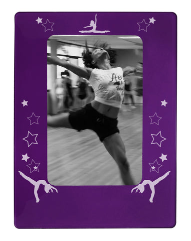 "Jazz Dancer 4"" x 6"" Magnetic Photo Frame (Vertical/Portrait)"