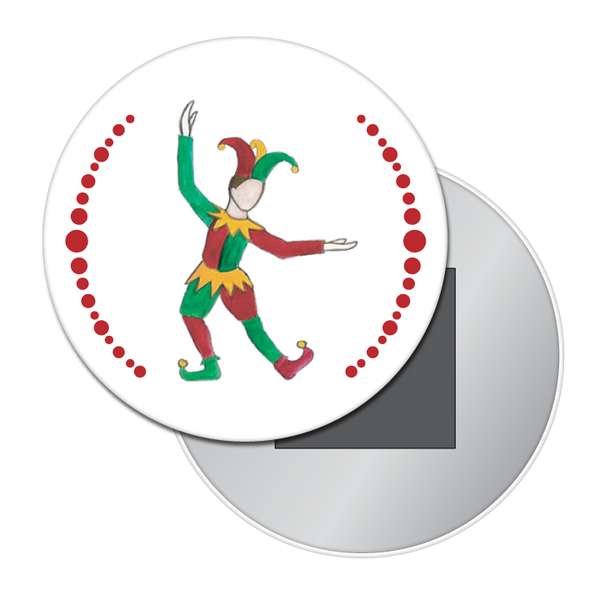 Court Jester Button / Magnet