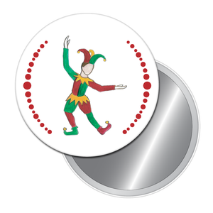 Court Jester Button/Magnet/Mirror