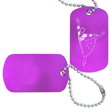 Load image into Gallery viewer, Romeo & Juliet Dance Bag Tag (Choose from 3 designs) - Ballet Gift Shop
