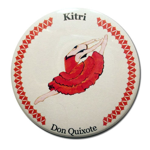 Kitri Button / Magnet - Ballet Gift Shop