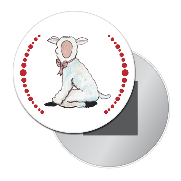 Lamb Button / Magnet