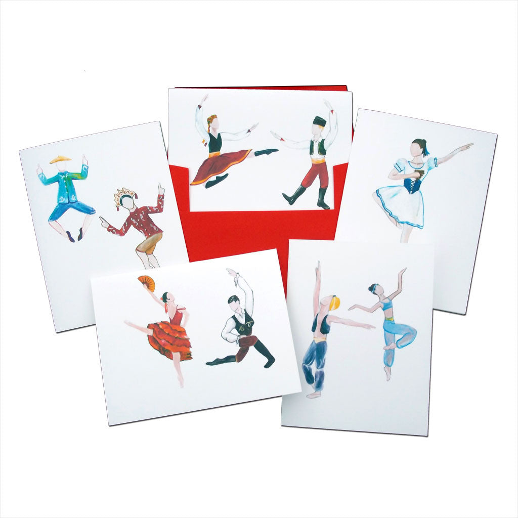 Land of Sweets Assorted Note Card Set - Ballet Gift Shop