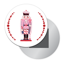 Load image into Gallery viewer, Land of Sweets Nutcracker Button/Magnet/Mirror