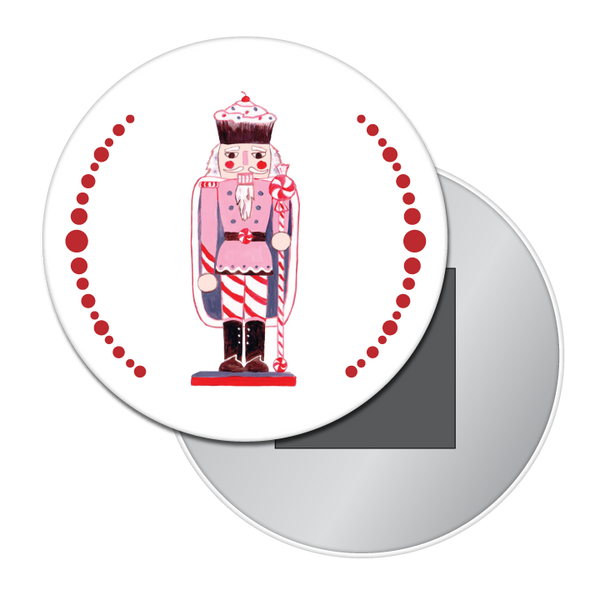 Land of Sweets Nutcracker Button / Magnet