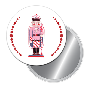 Land of Sweets Nutcracker Button/Magnet/Mirror