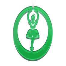 Load image into Gallery viewer, Lemon Drop Girl Laser-Etched Ornament