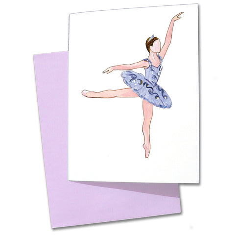 Lilac Fairy Note Cards - Ballet Gift Shop