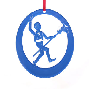 Little Boy at the Party Laser-Etched Ornament - Ballet Gift Shop