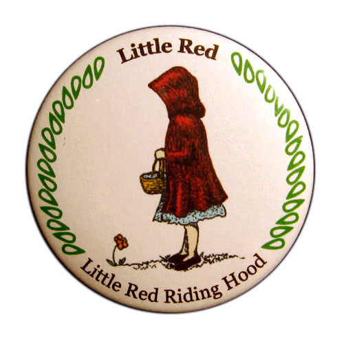 Little Red Riding Hood Button / Magnet - Ballet Gift Shop