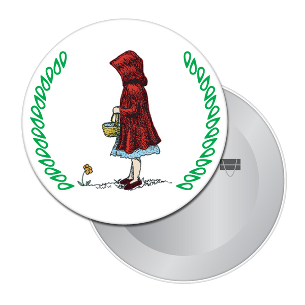 Little Red Riding Hood Button / Magnet
