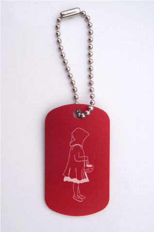 Little Red Riding Hood Dance Bag Tag - Ballet Gift Shop