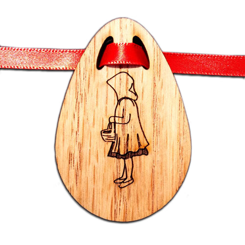 Little Red Riding Hood Bouquet Tag
