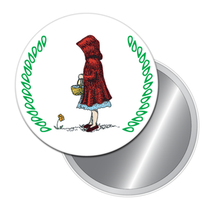 Little Red Riding Hood Button/Magnet/Mirror
