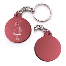 Load image into Gallery viewer, Little Red Riding Hood Key Chain