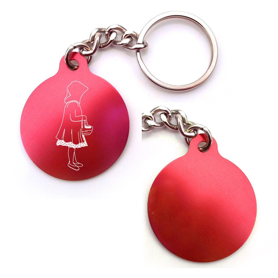 Little Red Riding Hood Key Chain