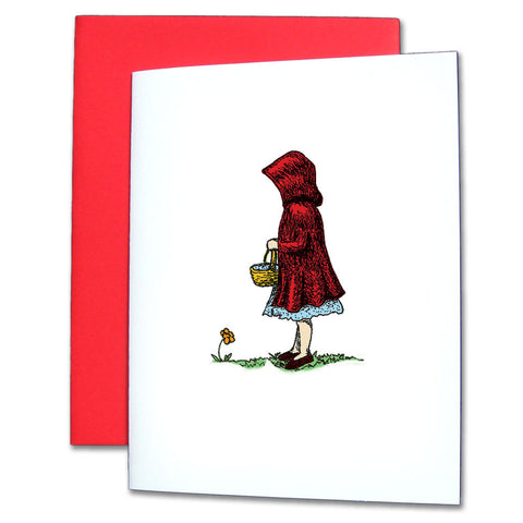 Little Red Riding Hood Note Cards - Ballet Gift Shop