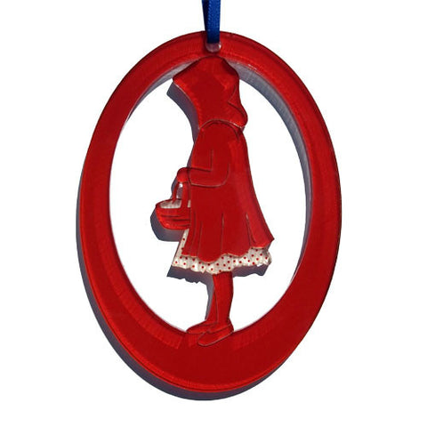Red Riding Hood Laser-Etched Ornament - Ballet Gift Shop