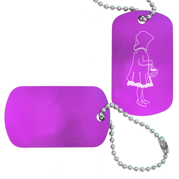Little Red Riding Hood Dance Bag Tag