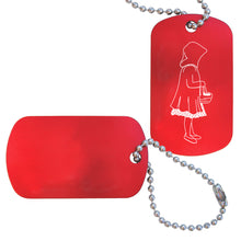 Load image into Gallery viewer, Little Red Riding Hood Dance Bag Tag - Ballet Gift Shop