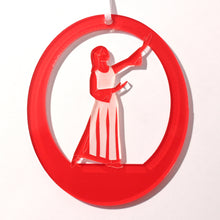 Load image into Gallery viewer, Liturgical Dancer #1 Laser-Etched Ornament